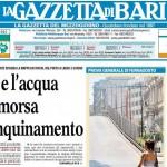 GazzettaDelMezzogiorno17giugno2013PrimaPaginaBari
