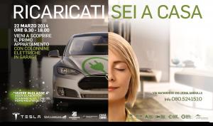 sabato 22 marzo dalle 9,30 alle 18 a Poggiofranco, zona Angiulli, a Bari, primo edificio in Puglia dotato di parcheggio privato con sistema di ricarica per le autovetture elettriche, alimentato da fonti rinnovabili